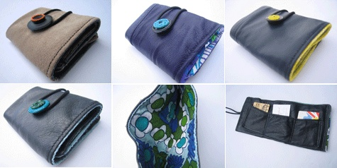 My wallets featured in Designsponge thanks to Paige Russell for this great feature!