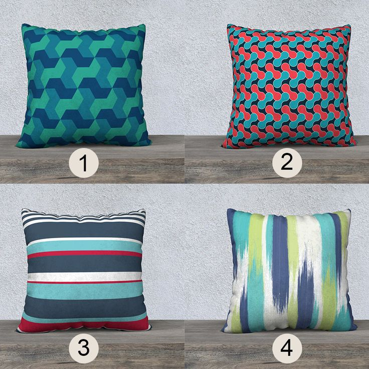Abstract pillow,Geometric pillowcase,canvas pillow cover,velveteen pillow,striped pillow,nautical pillowcase,marine pillow cover,beach house by OkopipiDesign on Etsy
