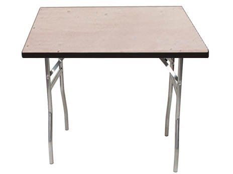 Standard Series Square Folding Banquet Table With Plywood Top By Maywood  Furniture. $118.99. The