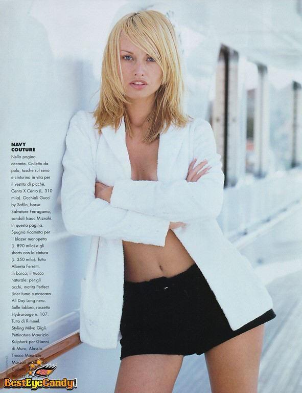 Sweet Succulent Adriana Sklenarikova ...  She turns me on...   She was born on 17 of September 1971