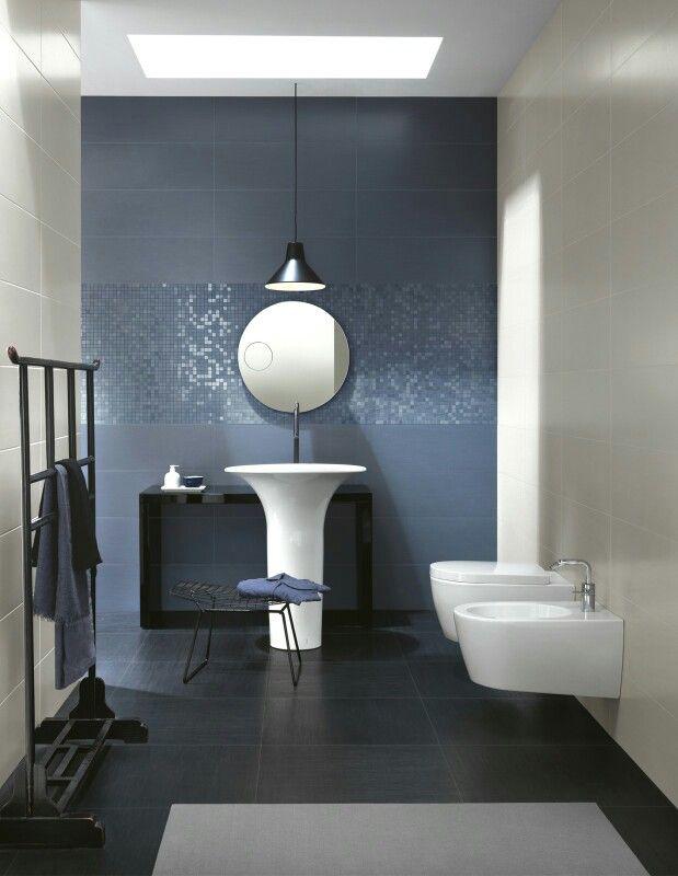 Ceramiche Ragno. Trend. Bagno Blu