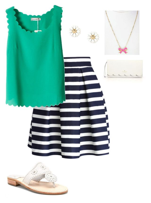 """""""because who doesn't love scalloped shirts!?"""" by preppy80 ❤ liked on Polyvore"""