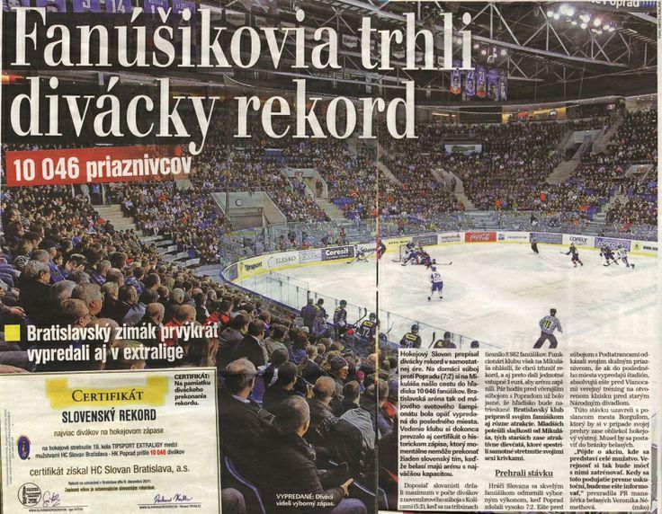 PLUS JEDE DEŇ - hokejový rekord.