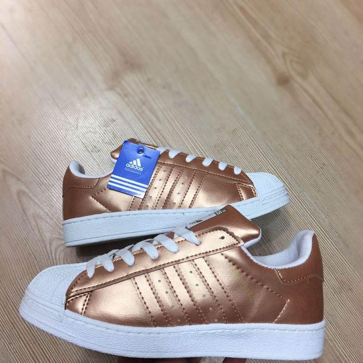 Adidas Superstar Parlak Bronz Beyaz Renk Spor Ayakkabı  WhatsApp Bilgi Hattı ve Sipariş : 0 (541) 2244 541  www.renkliayaklar.net