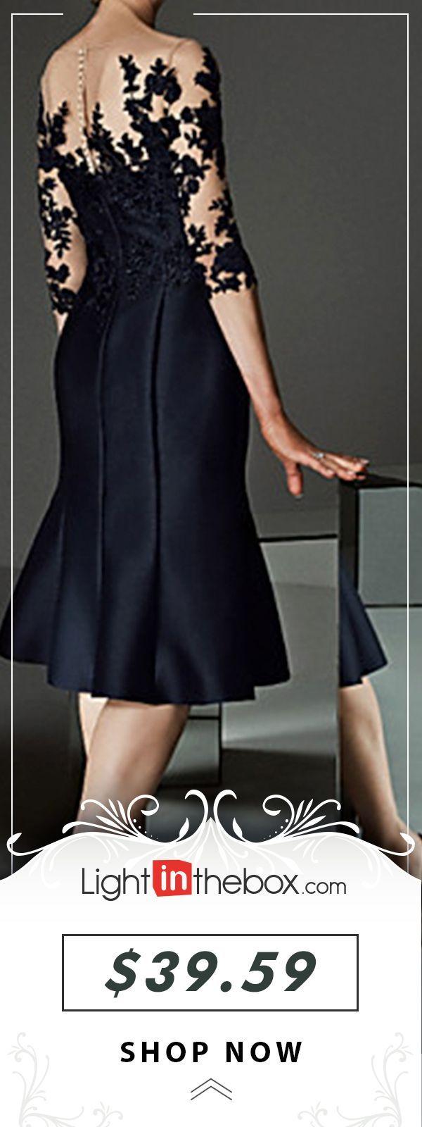 Womens Daily Elegant Sheath Dress Floral Lace Black M L Xl Xxl 2019 Women S Daily Elegant Sheat Lace Dress Outfit Black Lace Dress Outfit Black Sheath Dress [ 1600 x 600 Pixel ]