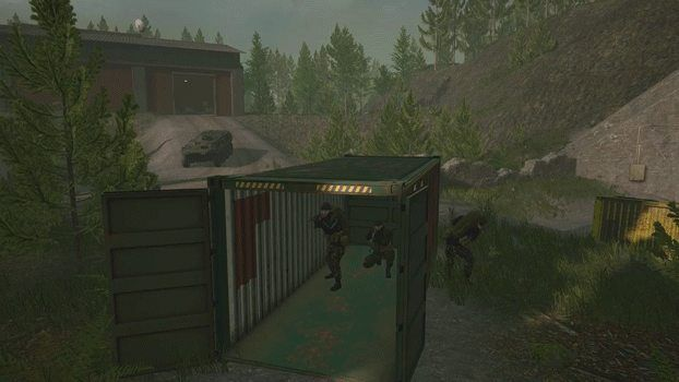 Squad will be on next Steam Free Weekend. Here is a .gifv of its impressive penetration physics.