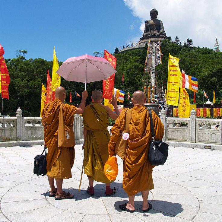 Hong Kong monks