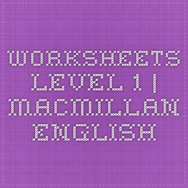 worksheets level 1 macmillan english esl teaching pinterest english macmillan english. Black Bedroom Furniture Sets. Home Design Ideas