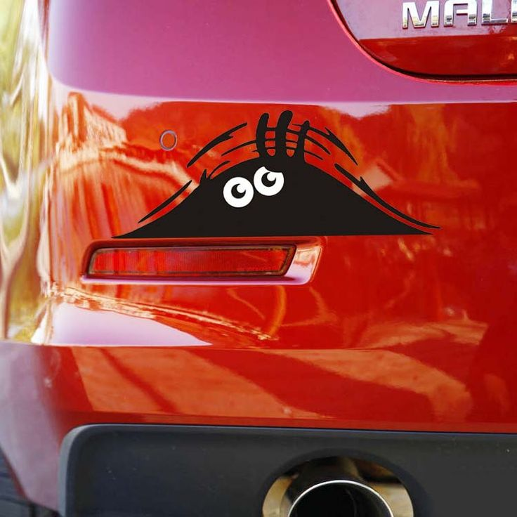 Cheap!!!Car sticker vinyl car Monster car motorcycle waterproof reflective stickers car +free shipping $5.80
