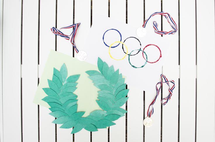 Prêt pour les Jeux Olympiques ? Il vous manque plus que la couronne de lauriers et le drapeau  Olympique pour supporter la France !