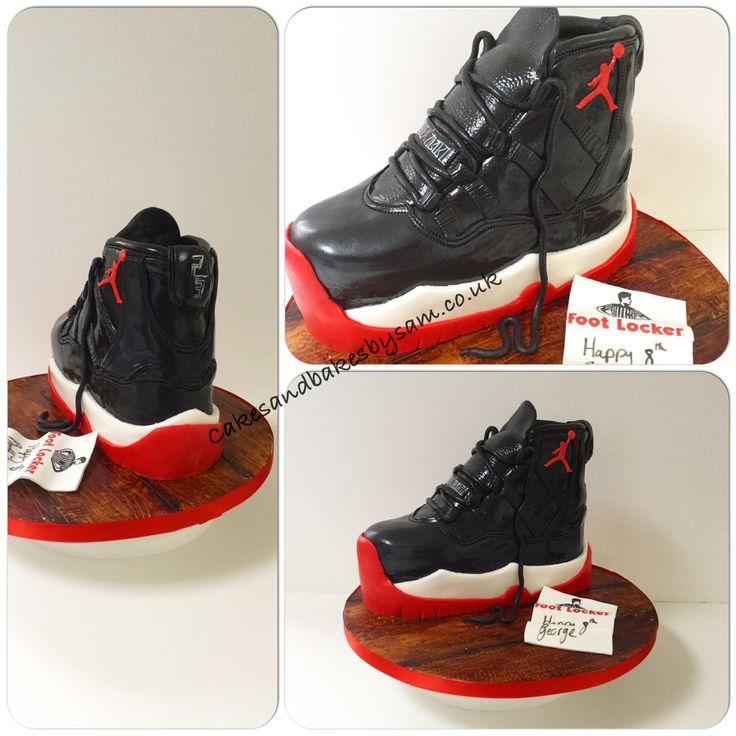 Nike air Jordan trainer cake