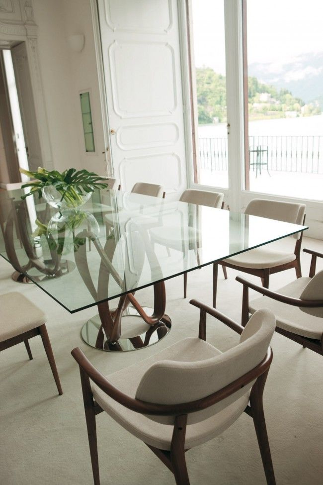 best 25+ glass dining table ideas on pinterest | glass dining room