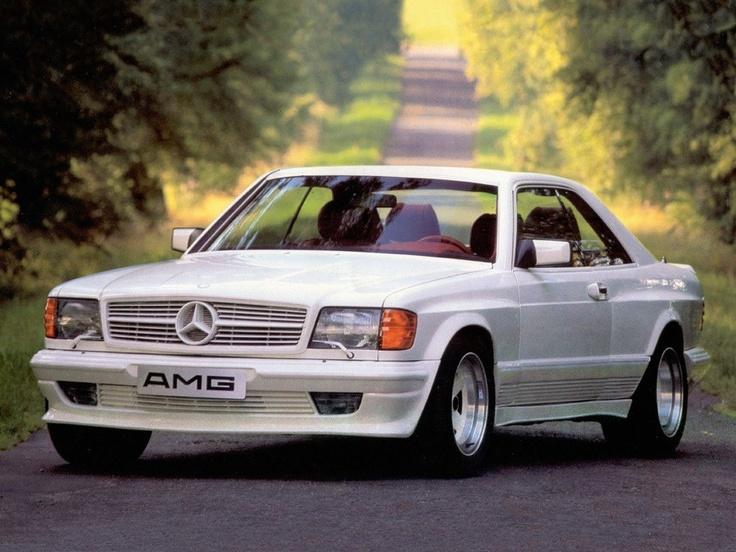 Unser Bilder-Blog zum 45-jährigen Jubiläum der Performance-Marke AMG - AMG Mercedes 500 SEC 5.0 C126 #mercedes #amg #tuning #cars