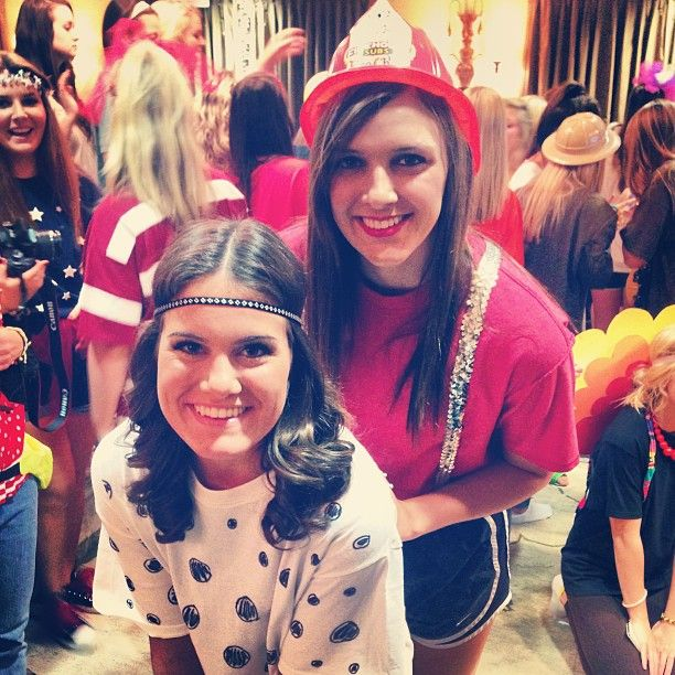 Fireman and Dalmatian, cute friends costume idea