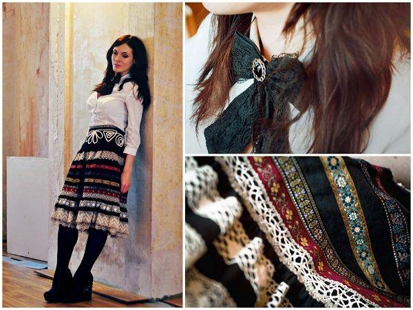Модная вещь: кружевная юбка в русском стиле - Стиль - Стиль на сайте ИЛЬ ДЕ БОТЭ