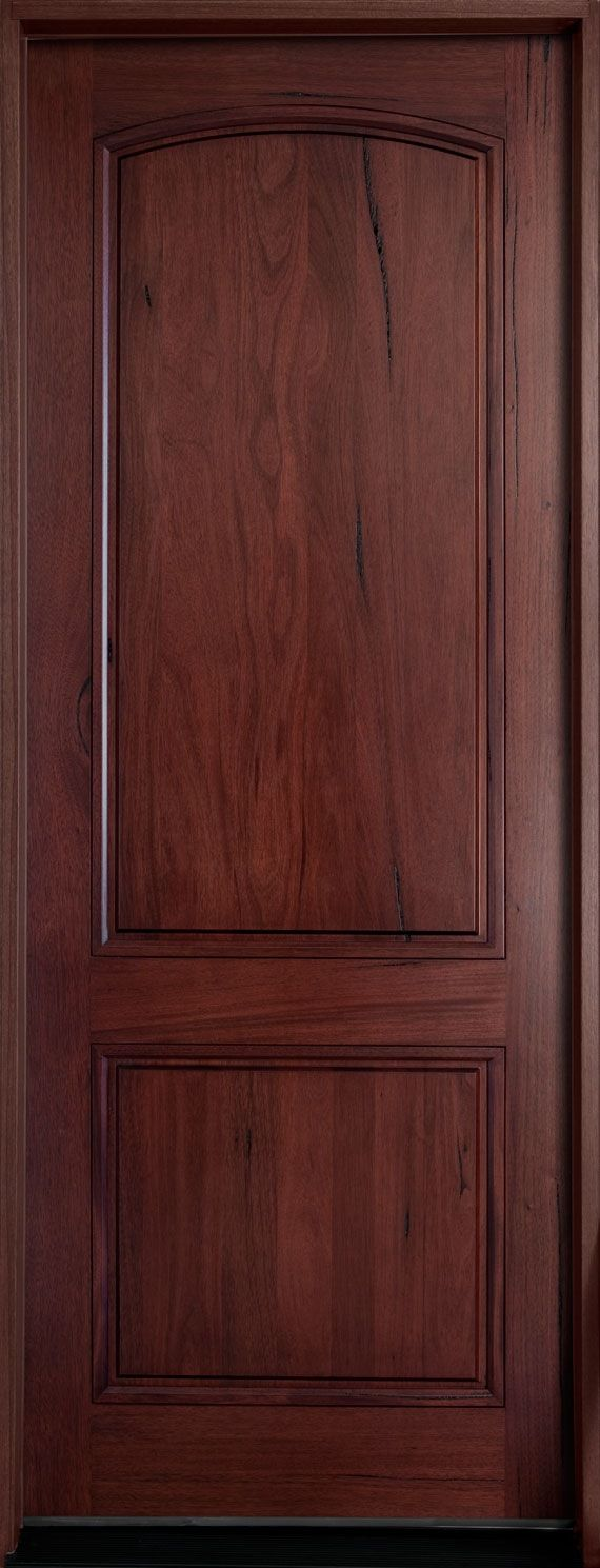 Solid wood interior doors that aren't knotty pine. Very nice. -MB