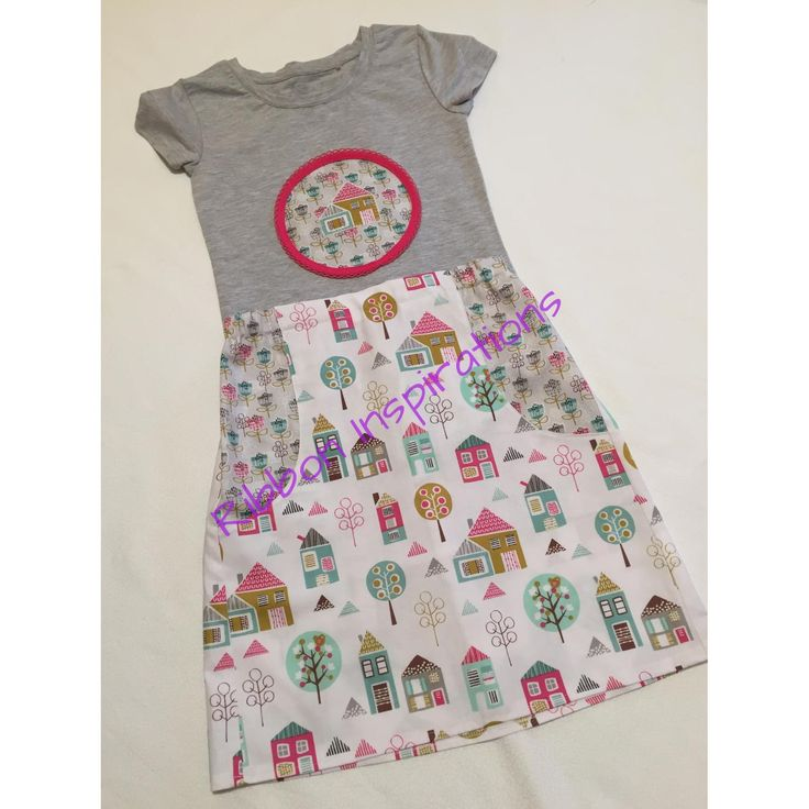 Size 8 explorer skirt with matching t-shirt.