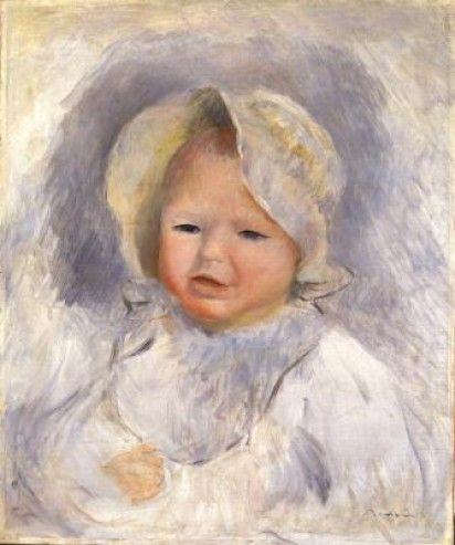 Renoir-Ritratto del figlio Pierre