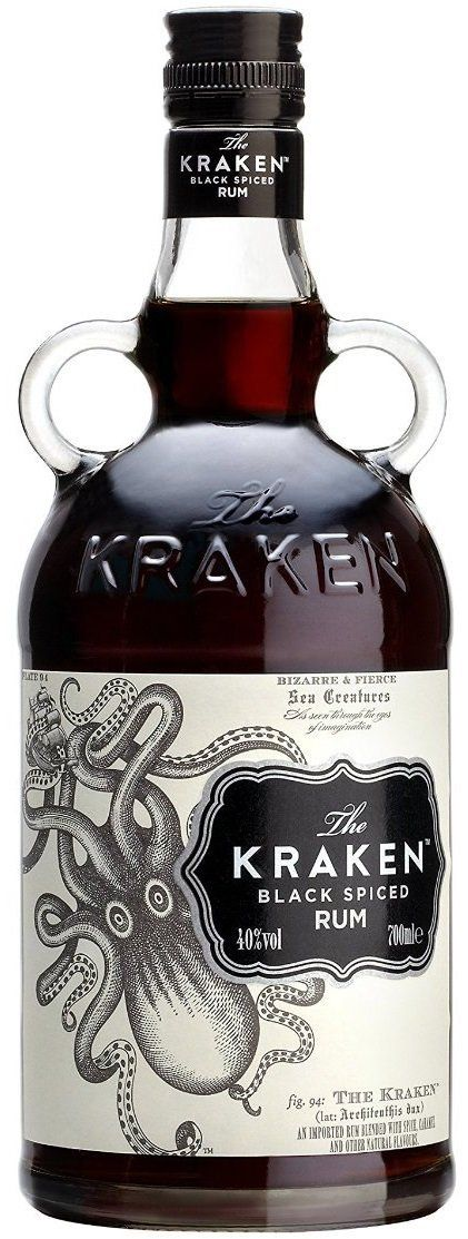Kraken Black Spiced Rum, 70 cl: Amazon.co.uk: Grocery