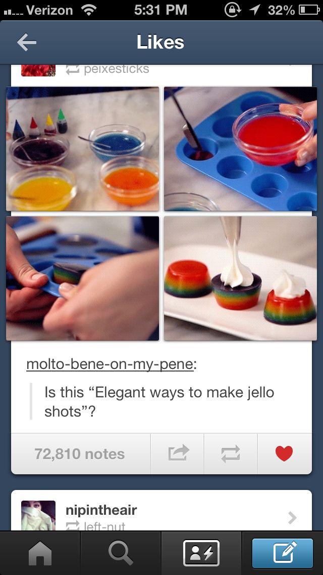 ... on Pinterest | Candy corn, Rainbow jello shots and Homemade jelly