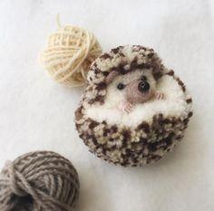 ouriço bebê …   – Pompoms