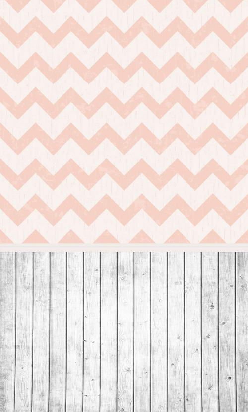 >> Click to Buy << Custom vinyl print cloth pink chevron wooden floor photography backdrops for kids photo studio portrait backgrounds props F-971 #Affiliate
