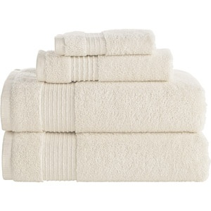 cream bath towels -- gahhhhhh!  Going to have to make a registry soon.... TOO MANY DECISIONS!
