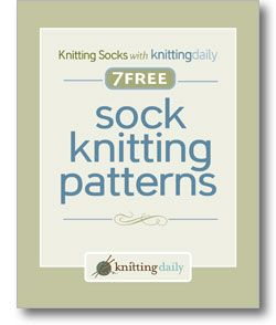 Here's your free eBook. (on hard drive as 7 Free Sock Knitting Patterns)