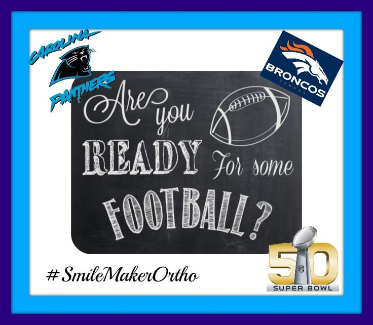 It's Super Bowl Sunday! Who do you think it will be? #Broncos #Panthers #goodtimes http://smilemaker.com