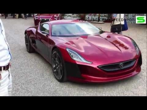 1000 hp Rimac Electric Car • Nice Cars