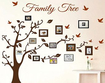 Family Tree Wall Decal U2013 Etsy IE Part 77
