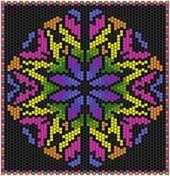 Kaleidoscope by Pattern De Lynn Nelson at Bead-Patterns.com