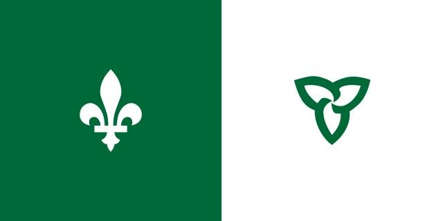 Franco-ontarian Flag, Canada