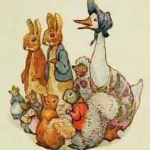 public domain nursery rhyme clipart