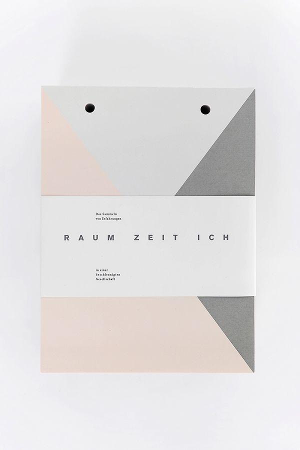 RAUM –ZEIT – ICH on Behance
