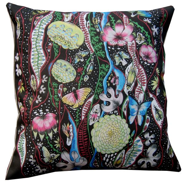 Cushion,, Fantasy,, by Anna Strøm design of Norway www.design-of-norway.no