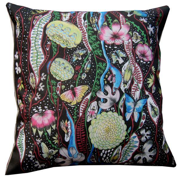 Decorative designer cushion,decorative pillow,, Fantasy,, by Anna Strøm design of Norway www.fabelskog.no