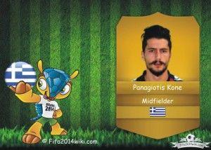 Panagiotis Kone - Greece Player - FIFA 2014