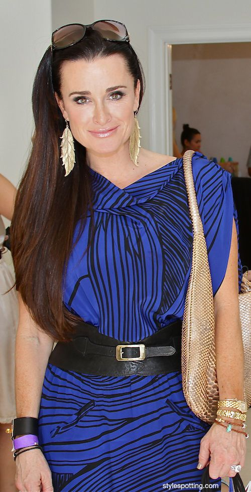 Beverly Hills Housewives, Kyle Richards in YK.
