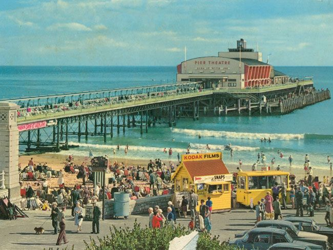Bournemouth, England 1960s. Seaside Resorts...I lived near here for the first 8 years of my life - such sweet memories ;-)