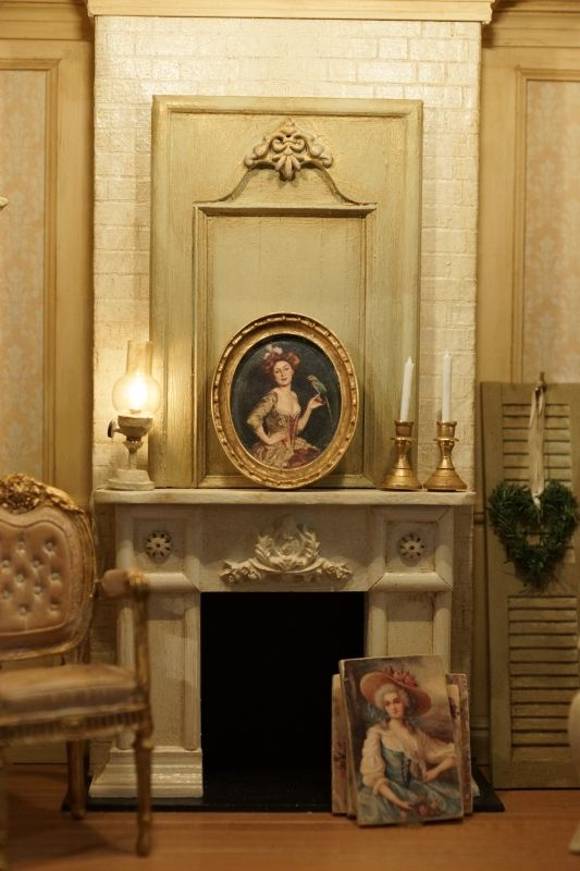 99 best images about fireplace mantels on pinterest - Manteles shabby chic ...