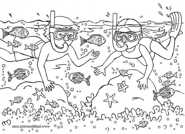 summer coloring pages for second