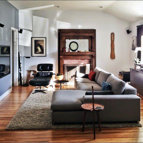 60 Bachelor Pad Furniture Design Ideas For Men Masculine Interiors Small Living Room Furniture Gray Living Room Design Bachelor Pad Living Room