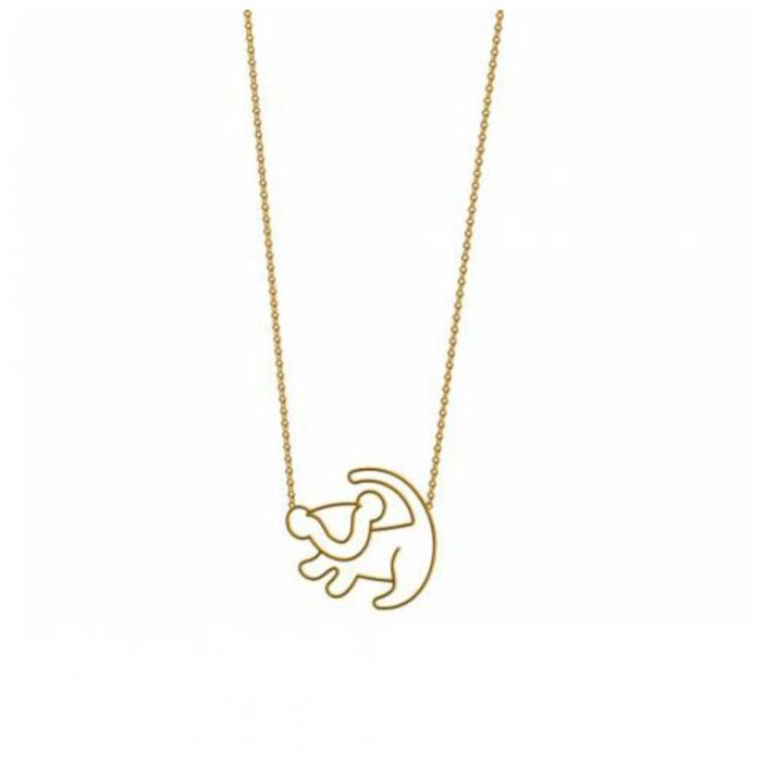 Disney lion king necklace