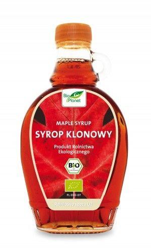 BIO PLANET bio syrop KLONOWY B 250ml ekosklepkrainazdrowia.pl