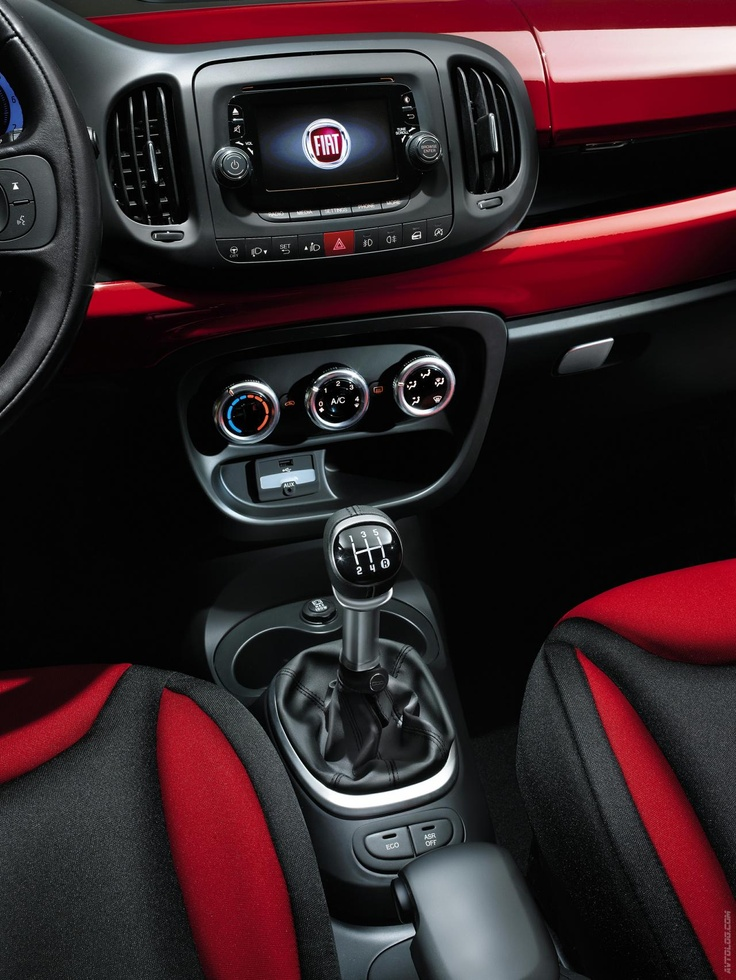 The inside of my next car ... 2012 Fiat 500L