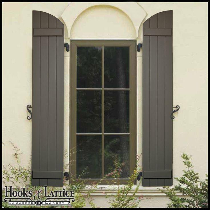 Outdoor Window Shutters | Board And Batten Exterior Shutters   Outdoor Window  Shutters. Color Comibination