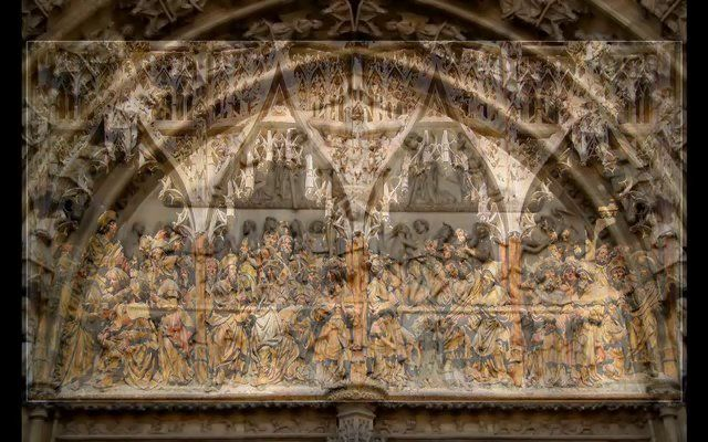#Architecture of #Gothic period - Northern Europe by historian Raichel Le Goff, PhD. (2.24mins) intro set to music by #Palestrina , performed by Les Petits Chanteurs de Montigny. #arthistory