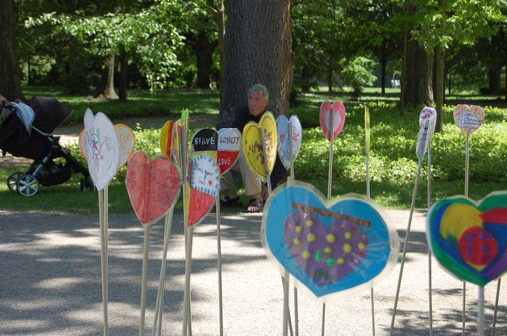 Heart Garden at Rideau Hall in Ottawa on June 3, 2015.