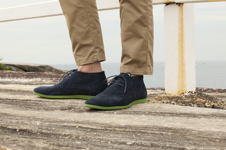 LIMERICK in navy/suede - $149.95